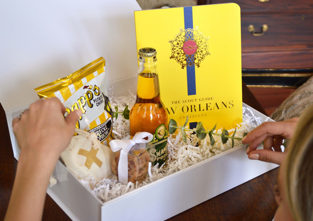 New Orleans Wedding Welcome Gift