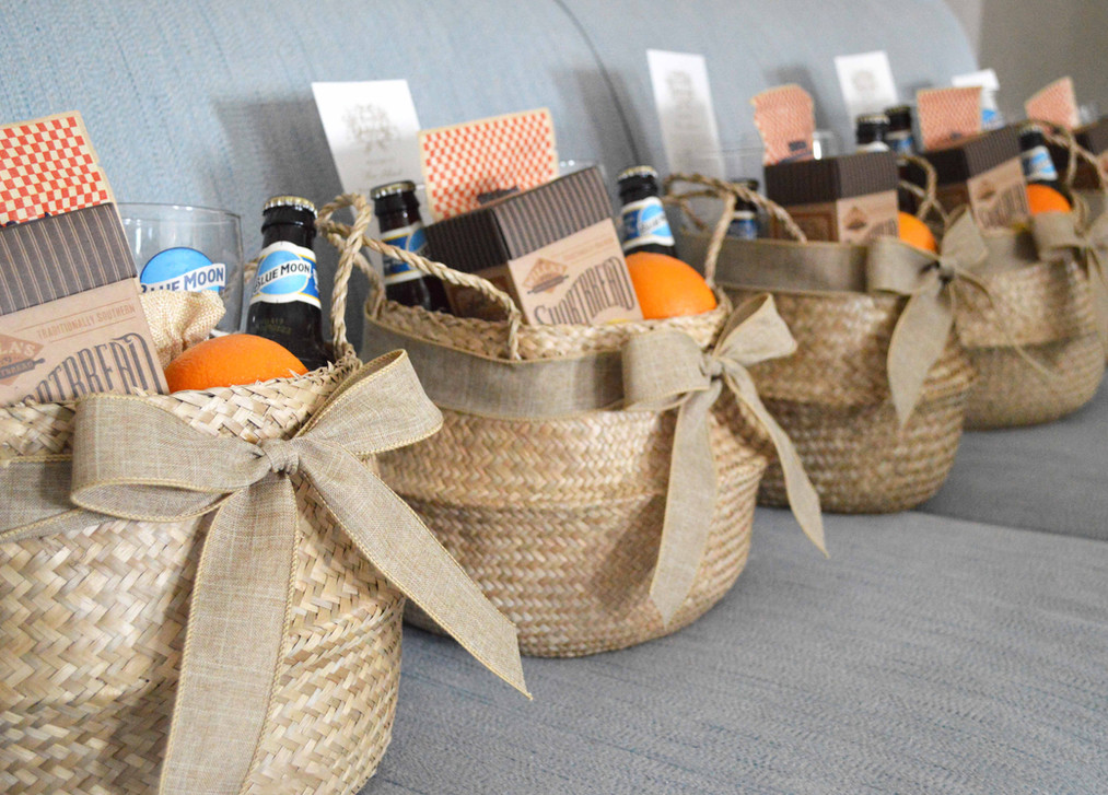 Sea Island Wedding Welcome Gifts