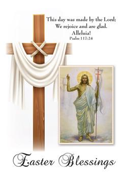 Easter Blessings White Cross