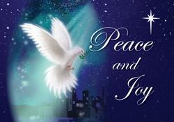Christmas Dove Peace And Joy
