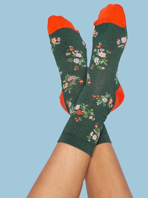 Blutsgeschwister Sensational Steps Socks Flower Feet