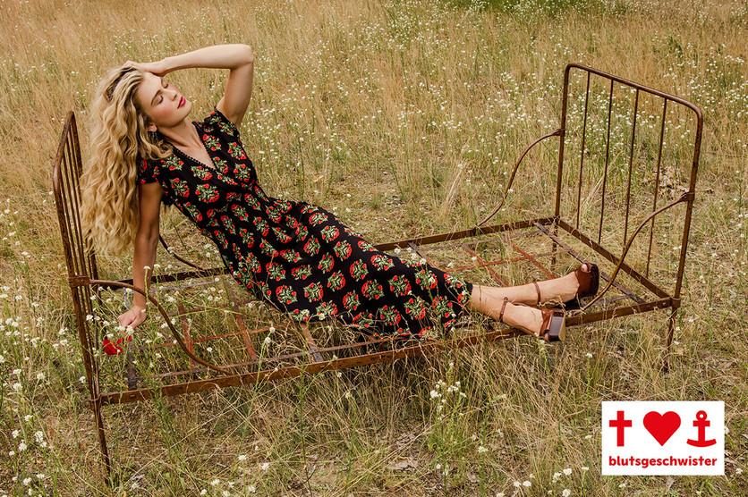 Sunflower jurk van Blutsgeschwister