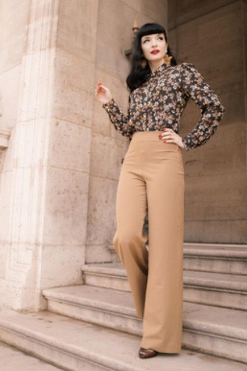 Marlene pants camel by VeryCherry