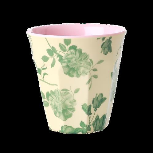 Beker Melamine Green Rose by Rice
