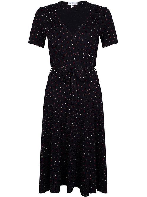 Hollywood Dress Tricot Confetti Black