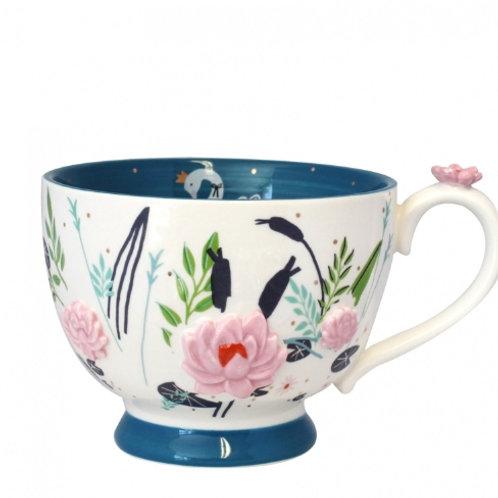Secret Garden Teacup Swan