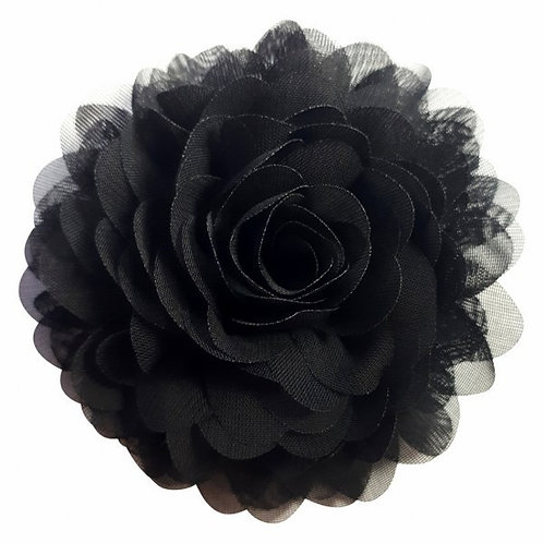 Chiffon corsage black by Urban Hippies