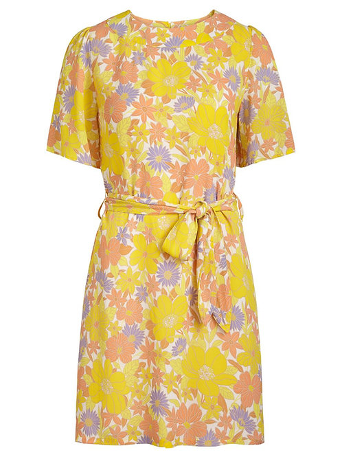 Mila Tunic Dress Doyenne Yellow Pear by King Louie