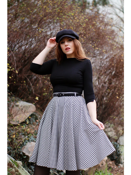 Circle Skirt Ruit Vichy by Very Cherry