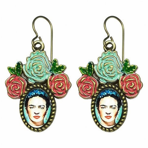 Frida Blue/Red by Urban Hippies