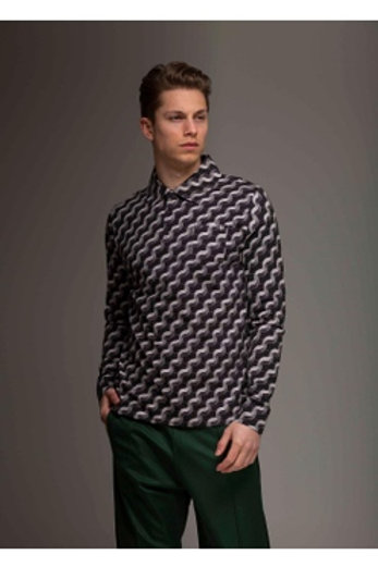 Eagle Birds Heren blouse by 4 Funky Flavours