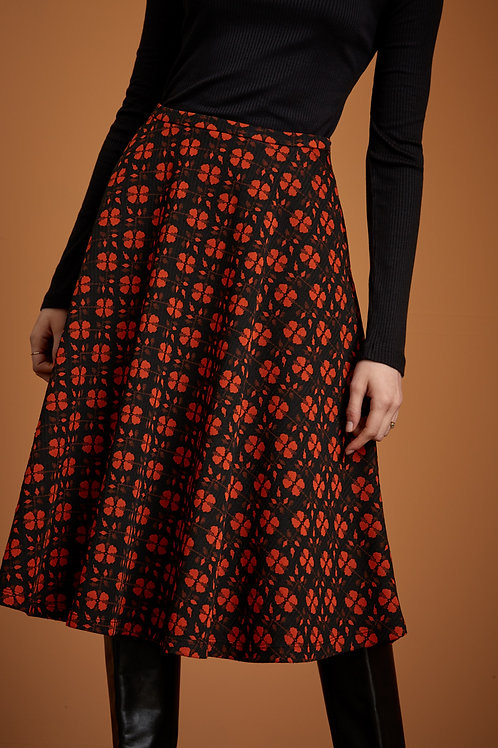 Circle Skirt Wick Clay Red by King Louie