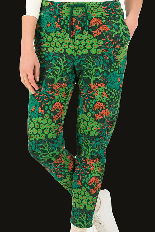 Blutsgeschwister groene tricot broek Casual Every day