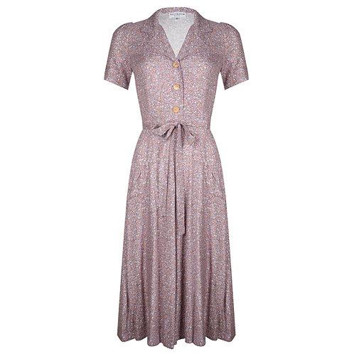 Revers Dress Midi Lolita by Very Cherry