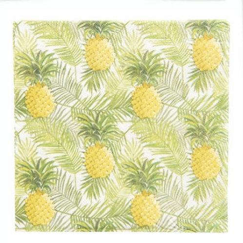 Servetten ananas Clayre en Eef