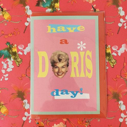 Kaart Doris Day