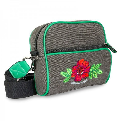 Dailybag Denim Black rose by Urban Hippies