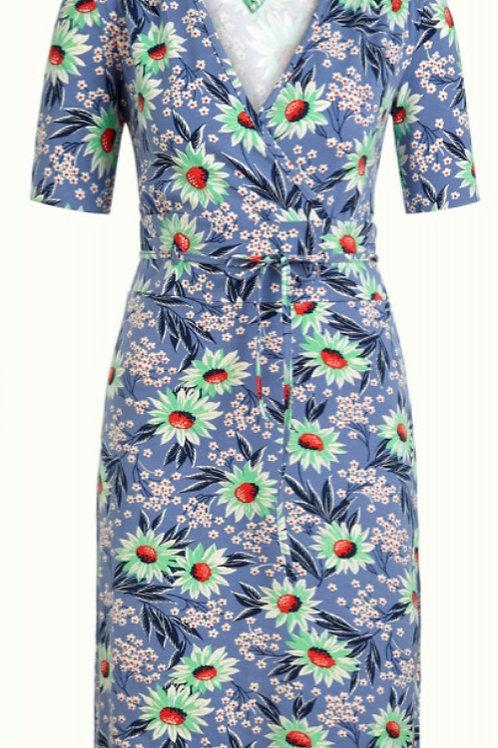 Cecil Dress Rosalia Bluestone Blue by King Louie