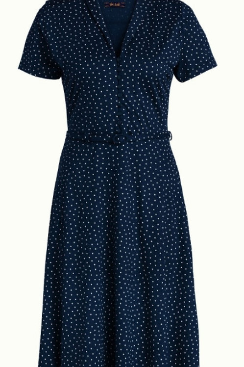Emmy dress Little Dots Dark Navy by King Louie