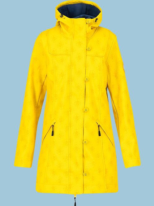 Blutsgeschwister Wild Weather Long Anorak  Yellow
