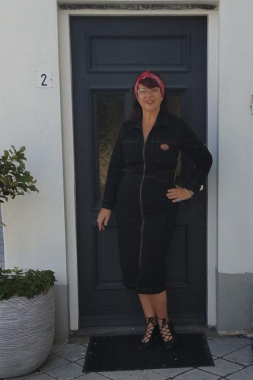 Pencil dress Black by Queen Kerosin