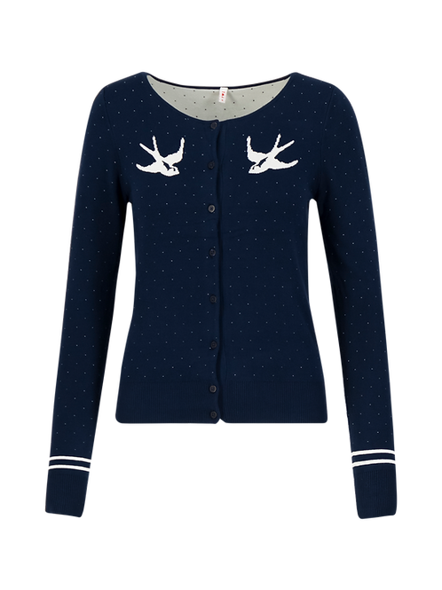 Cardigan Lucky Swallow by Blutsgeschwister