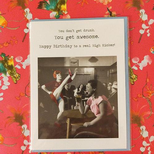 Kaart Birthday