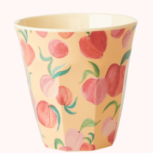 Rice beker melamine Peaches