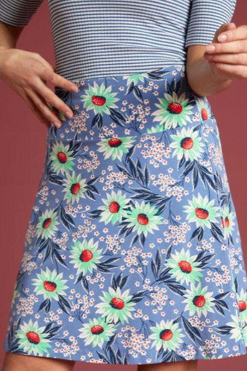 Border Skirt Rosalia Bluestone Blue by King Louie