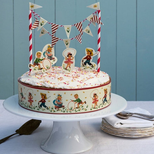 CAKE DECO VINTAGE KIDS
