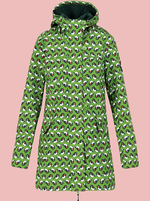 Blutsgeschwister Wild Weather Long Anorak Birds