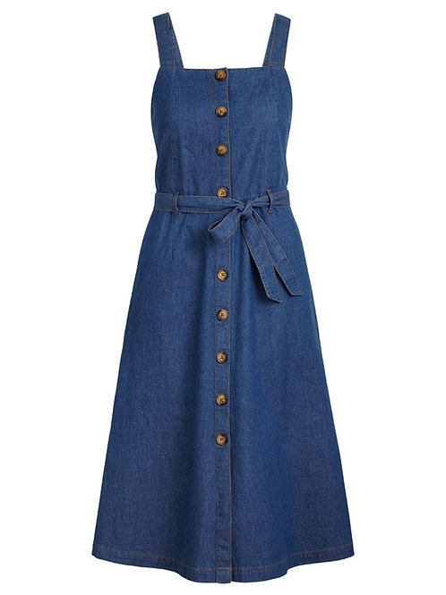 Ines Dress Chambray River Blue by King Louie