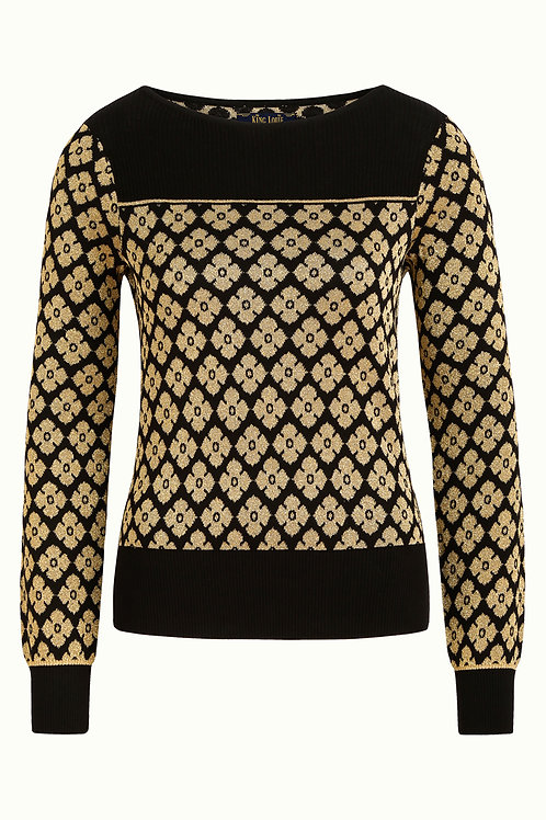 Bella Top Lunna Black by King Louie