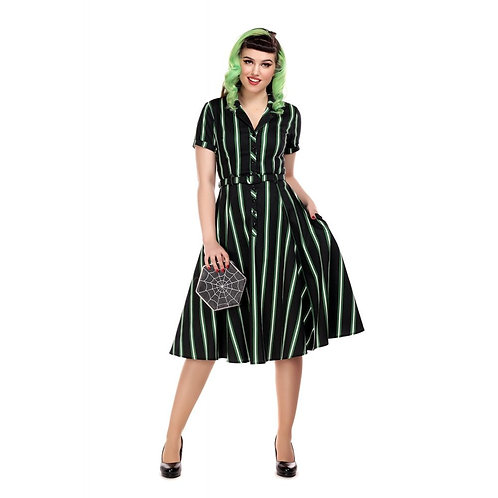 Caterina Witch Swing Dress by Collectif