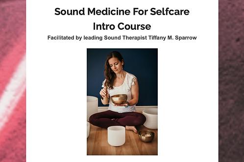 Sound for Selfcare Intro Course - Webinar Recording