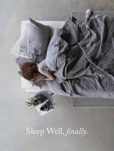 Sleep Well, finally.