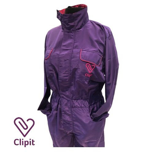 Clipit Suit - Elasticated Sleeves