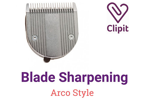 Arco Style Blade Sharpening