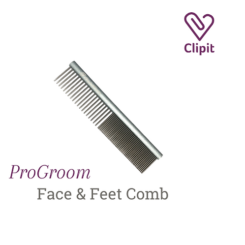 Pro Groom Face & Feet Comb