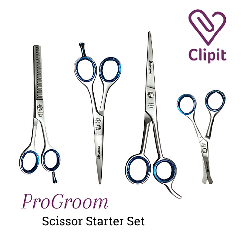 ProGroom Scissor Starter Set