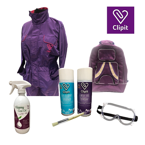 Clipit Grooming Kit - Purple Collection