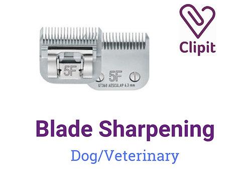 Dog Blade Sharpening
