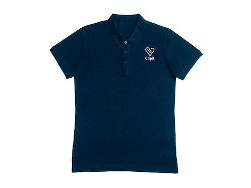Clipit Polo Shirt - Navy