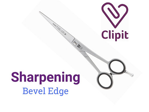 Scissor Sharpening - Bevel Edge