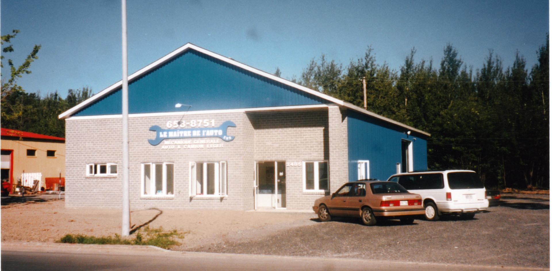 Garage en 1995