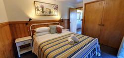 Cabin main bedroom