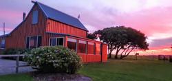 Barn outside