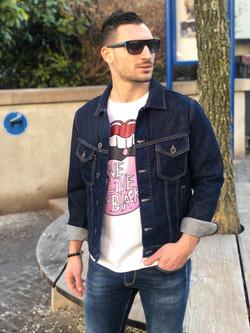 Veste en Jeans Antony Morato chez Fashion Vicitm Shop