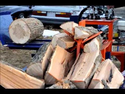 Custom Wood Splitting Service