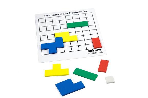 Poliminós com Prancha (Tetris)